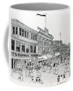 Atlantic City Boardwalk 1900 Coffee Mug