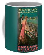 Atlantic City Pennsylvania Railroad Coffee Mug