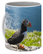Atlantic Puffins, Fratercula Arctica Coffee Mug by Keenpress