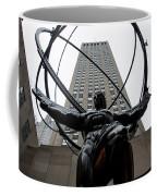 Atlas New York City Coffee Mug