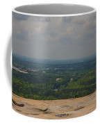 Atop Of Stone Mountain Coffee Mug
