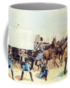 Attack On The Supply Train 1885 Coffee Mug