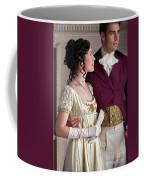 Attractive Regency Couple Coffee Mug