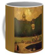Au Jardin Du Luxembourg 1899 Coffee Mug