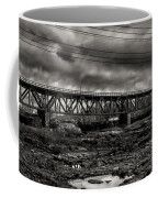 Auburn Lewiston Railway Bridge Coffee Mug