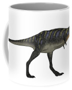Aucasaurus Dinosaur Isolated On White Coffee Mug
