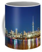 Auckland At Dusk Coffee Mug