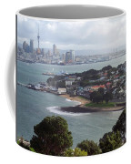 New Zealand - Picturesque Devonport Beach Coffee Mug