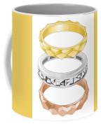 Audrey Hepburn Engagement To Mel Ferrer  Coffee Mug
