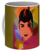 Audrey Hepburn Pop Art 1 Coffee Mug