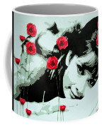 Audrey In Poppies Coffee Mug
