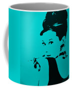 Audrey Light Blue Coffee Mug