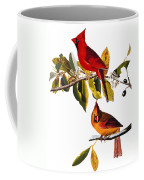 Audubon: Cardinal Coffee Mug