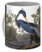 Audubon Heron, 1827 Coffee Mug
