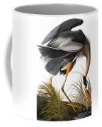 Audubon Heron Coffee Mug