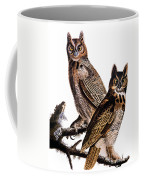 Audubon: Owl, (1827-1838) Coffee Mug