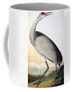 Audubon Sandhill Crane Coffee Mug
