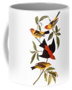 Audubon: Tanager, 1827 Coffee Mug