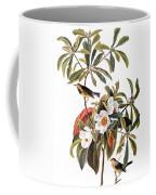 Audubon: Warbler, 1827-38 Coffee Mug
