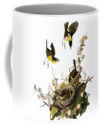 Audubon: Yellow Chat, (1827-38) Coffee Mug