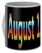 August 12 Coffee Mug