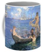 August Blue Coffee Mug