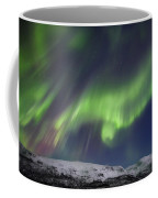 Aurora Borealis Over Blafjellet Coffee Mug