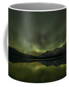 Aurora Light Beams Coffee Mug