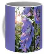 Aurora Light Purple Delphinium And Sunset No. 2 Coffee Mug