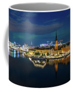 Aurora Over Stockholm In The Fall 2018 Coffee Mug