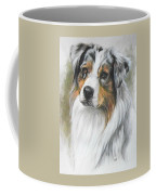 Aussie Shepherd Portrait Coffee Mug