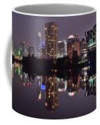 Austin Lights Up Lady Bird Lake Coffee Mug