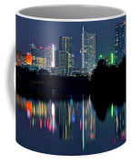 Austin Reflects In Ladybird Lake Coffee Mug