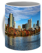 Austin Skyline From Lou Neff Point Coffee Mug