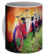Austin Texas Bikes  -- Original Painting Coffee Mug