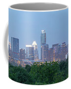 Austin Texas Building Skyline After The The Lights Are On Coffee Mug