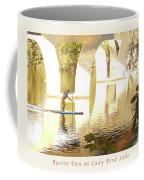Austin Texas - Lady Bird Lake - Mid November Three - Greeting Card Coffee Mug by Felipe Adan Lerma