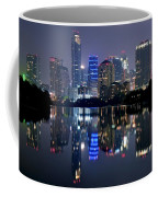 Austin Texas Mirror Image Coffee Mug