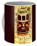 Australia Travel Tram Map Coffee Mug