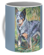Australian Cattle Dog 1 Coffee Mug by Lee Ann Shepard