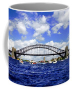Australian Day Is A Party Day On Sydney Harbour  Coffee Mug