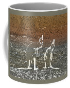 Australian Red Kangaroos Coffee Mug