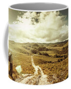 Australian Rural Panoramic Landscape Coffee Mug