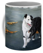 Australian Shepard Border Collie Coffee Mug