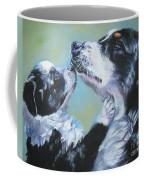 Australian Shepherd Mom And Pup Coffee Mug