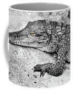 Australian Shy Crocodile  Coffee Mug