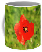 Austrian Poppy Coffee Mug