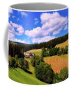Austrian Rural Forest Vista Coffee Mug