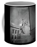 Authority Statue At The Courthouse In Memphis Tennessee Coffee Mug