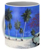 Auto Sulla Spiaggia Coffee Mug